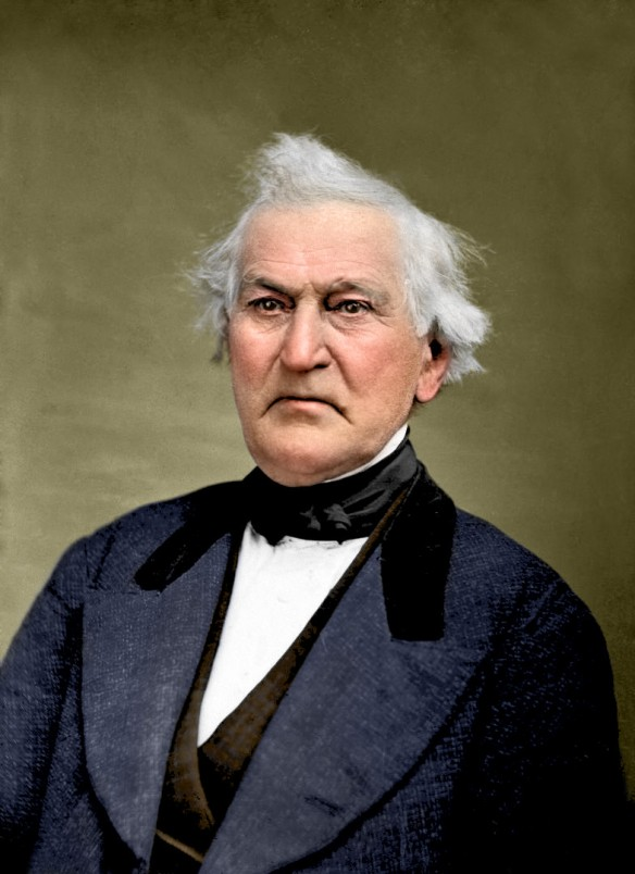 David Whitmer, photo by Jacob T. Hicks. Retouched & Colorized by Bryce M. Haymond.