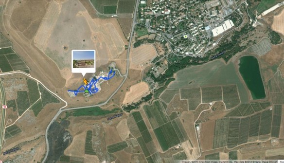 Virtual Walking Tour of Ancient Archaeological Site Tel-Hazor in Google Maps http://goo.gl/maps/BJ3vg