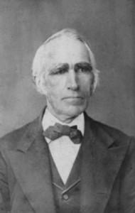 Figure 1: Ebenezer Robinson, ca. 1880s. Courtesy of Community of Christ Archives.