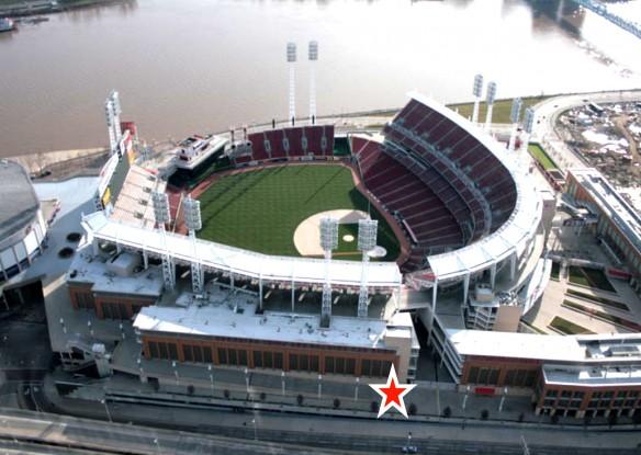 Figure 13: Great American Ball Park, Cincinnati, Ohio. Courtesy of Google Images.