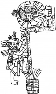 Figure 7: Monument from El Castello, Cotzumalhuapa region, Guatemala (drawing by D. Wirth)