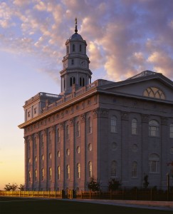 Figure 2. Nauvoo Temple. (Photograph courtesy of Val Brinkerhoff)