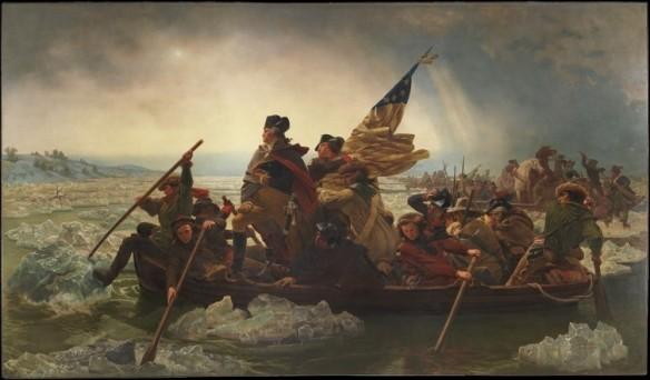 Figure 2. Emanuel Leutze, Washington Crossing the Delaware (1851), online at https://en.wikipedia.org/wiki/Washington_Crossing_the_Delaware. Public Domain.