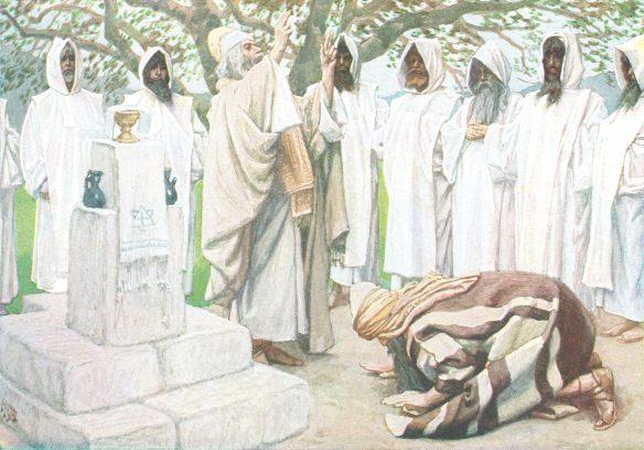 Figure 4. J. James Tissot (1836–1902): The Offerings of Melchizedek, ca. 1896–1902.