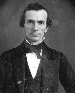 Figure 7. Oliver Cowdery. Daguerreotype taken in the 1840s by James Presley Ball.