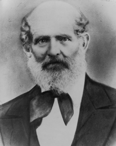 Figure 12. Zebedee Coltrin, ca. 1865.