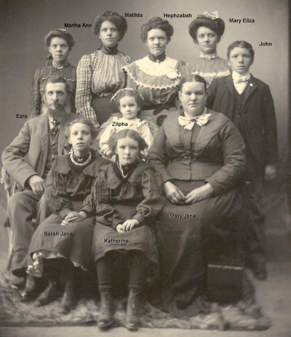 Figure 13. Ezra and Mary Jane Potter Family, ca. 1903