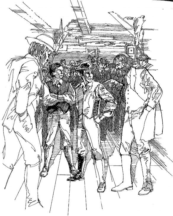 Figure 4. Harris and Scott Are Confronted by the Conspirators66