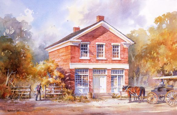 Figure 6. Roland L. Lee, 1949-: Joseph Smith's Red Brick Store, 200884