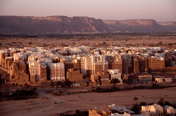 Figure 6. Modern Shibam reflects the ancient Yemeni tradition of multistory buildings.161