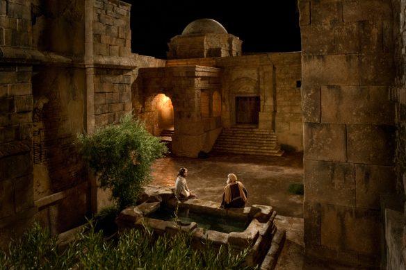 Figure 1. Nicodemus Comes to Jesus by Night.