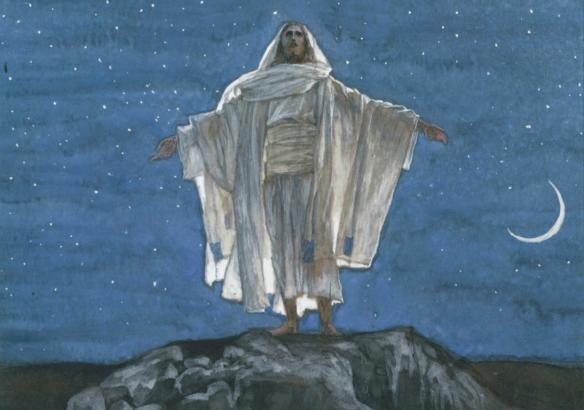 Figure 10. J. James Tissot (1836–1902): Jesus Goes Up Alone unto a Mountain to Pray (detail), 1886–1894.