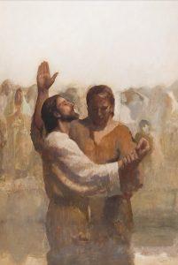 Figure 14. J. Kirk Richards (1977-): The Baptism of Jesus Christ by John.