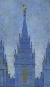 Figure 16. J. Kirk Richards (1977-): The Salt Lake Temple.