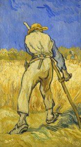 Figure 33. Vincent van Gogh (1853–1890): Le Moissonneur, 1889.