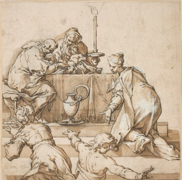 Figure 35. Abraham Bloemaert (1566–1651): The Circumcision, 1601.