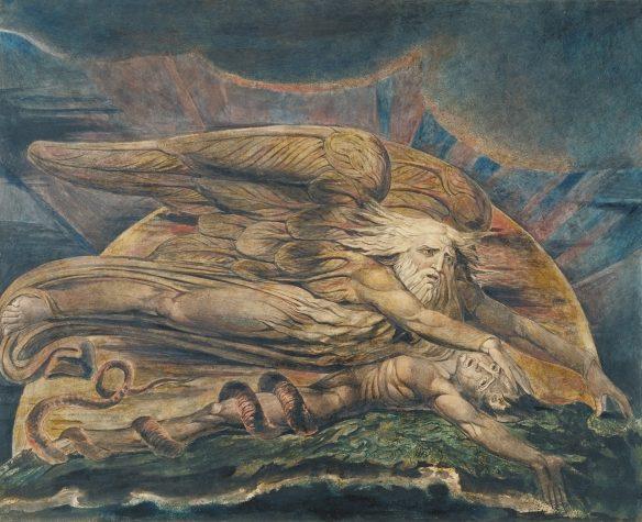Figure 40. William Blake (1757–1827): Elohim Creating Adam, 1795–ca. 1805.