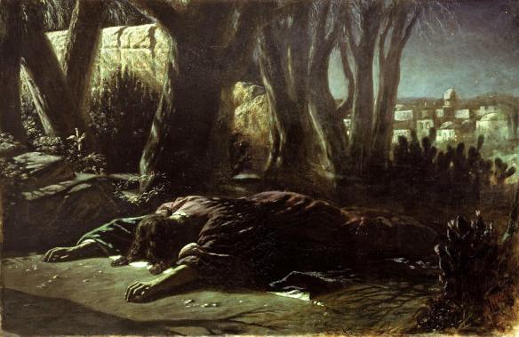 Figure 44. Vasily Perov (1833–1882): Christ in Gethsemane, 1878.