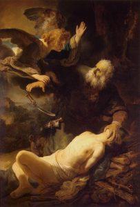 Figure 47. Rembrandt Harmenszoon van Rijn (1606–1669): The Sacrifice of Isaac, 1634.