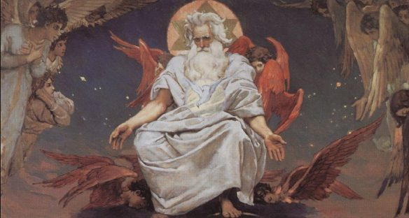 Figure 52. Viktor Vasnetsov (1848–1926): God of Hosts, 1885–1896.