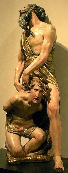 Figure 53. Alonso Berruguete (1488–1561): Sacrificio de Isaac, Museo Nacional del Prado.
