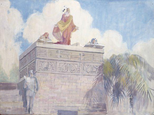 Figure 50. Minerva Teichert (1888–1976): King Benjamin's Farewell Address, 1949–1951.